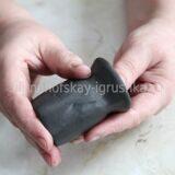 Петух из полимерной глины